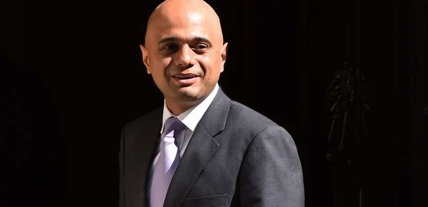 Sajid Javid will be in India for three days